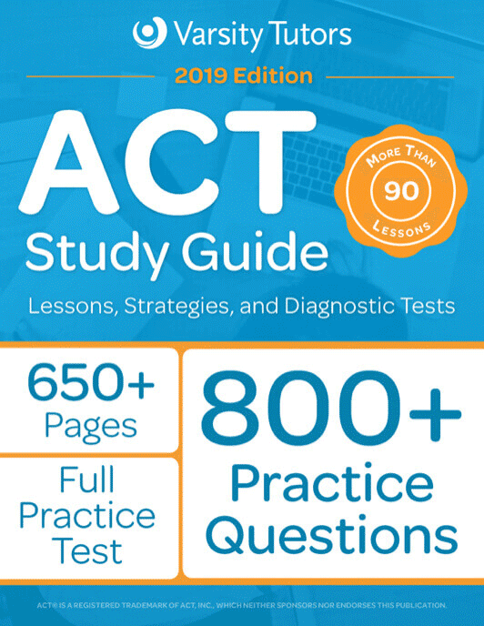 Varsity Tutors - ACT Prep Book