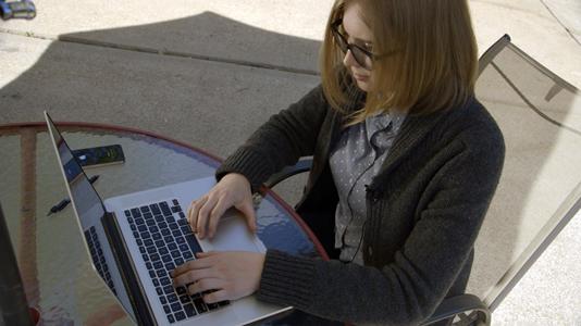 Student online overhead