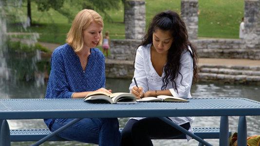 Tutoring in park