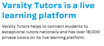 Tutoring jobs blurb